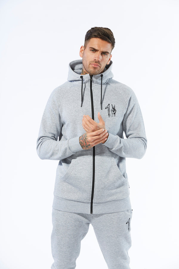 One Peace Track Top - Grey