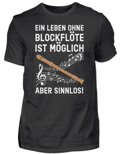 Blockflöten T-Shirt