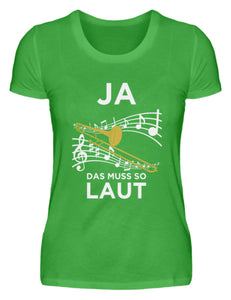 Lustiges Posaunen T-Shirt