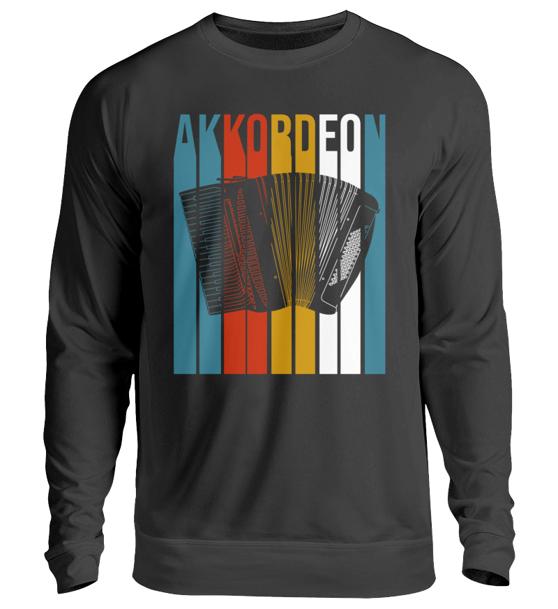 Akkordeon Retro Design - Pullover