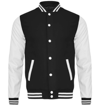 Querflöte Retro Design College-Jacke