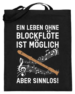 Blockflöte Notentasche