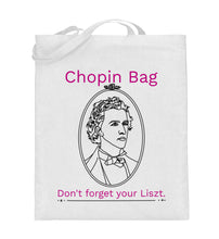Lustige Notentasche Chopin Bag