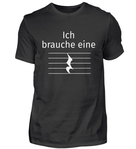 Lustiges Musiker Pause T-Shirt