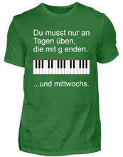 Lustiges Klavier T-Shirt