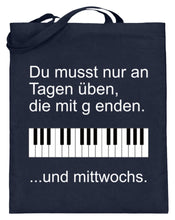Notentasche Klavier
