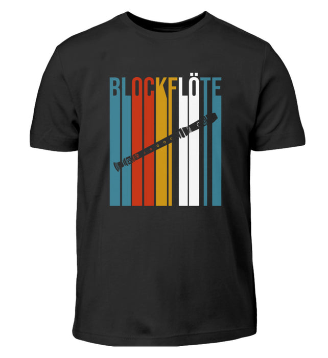 Blockflöte Kinder T-Shirt
