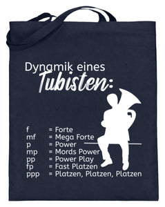 Musiker Notentasche Tuba
