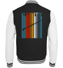 Klarinette Retro College-Jacke