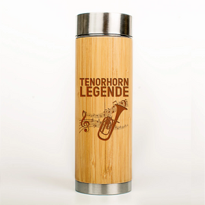 Musiker Thermoskanne Tenorhorn Legende