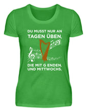 Lustiges Harfen T-Shirt