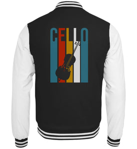 Cello Retro College-Jacke