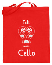 Lustige Cello Notentasche