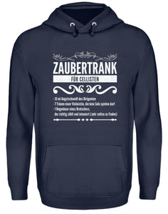 Cello Kapuzenpullover