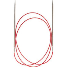 "Load image into Gallery viewer, ChiaoGoo - Red Lace SS Circluar Needles - 40"" (100 cm)"