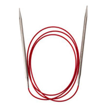 "Load image into Gallery viewer, ChiaoGoo - Red Lace SS Circluar Needles - 60"" (150 cm)"