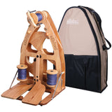 Joy Double Treadle Spinning Wheel 2 & Carry Bag