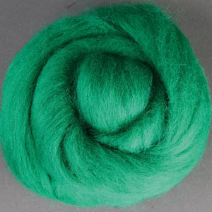 Corriedale Top Green