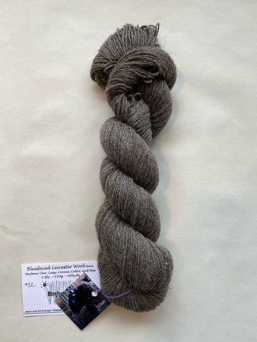 Bluefaced Leicester 3ply Yarn (grey)