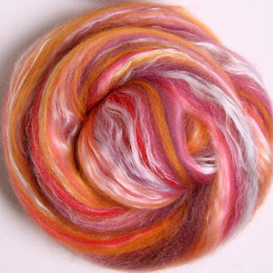Silk/Merino Scarf Kits Sunset