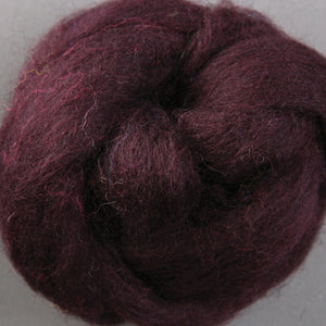 Corriedale Top Plum Duff