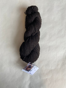 Rambouillet 3ply Yarn (dark brown)