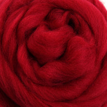 Merino Top (22 Micron) Cherry Red