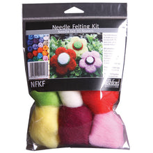 Load image into Gallery viewer, Needle Felting Kit - Flowers
