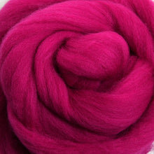 Load image into Gallery viewer, Merino Top (22 Micron) Magenta