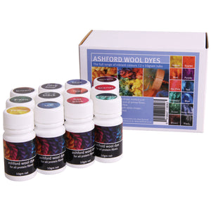 Ashford Wool Dye Collection (12 colours)