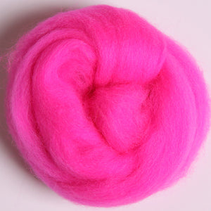 Merino Top (22 Micron) Fluo. Pink