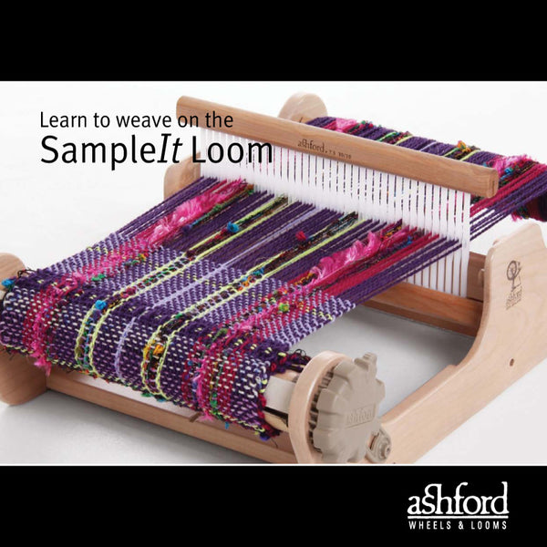Learn to Weave on the SampleIt Loom Booklet