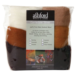 Corriedale 100g Packs Furry Friends