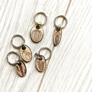 Stitch Markers - Set of Five