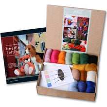 Load image into Gallery viewer, Needle Felting Starter Kit