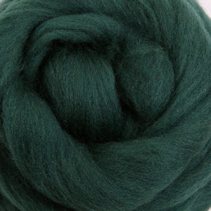 Merino Top (22 Micron) Green Tea