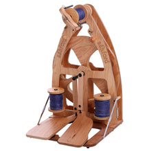 Load image into Gallery viewer, Joy Double Treadle Spinning Wheel 2 & Carry Bag
