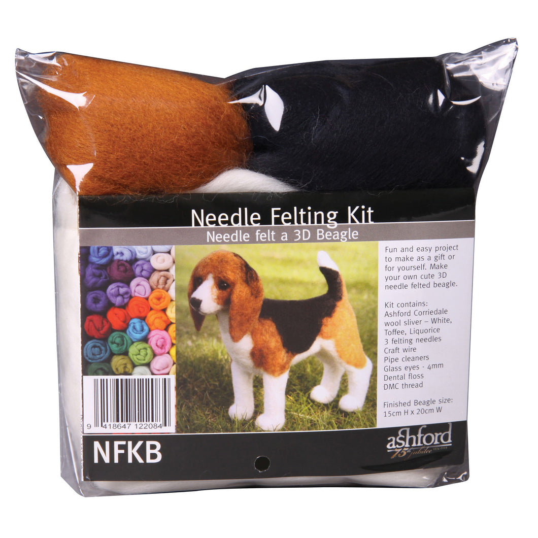Needle Felting Kit - Beagle