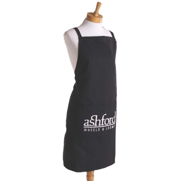 Ashford Full Size Apron with Pocket - Black