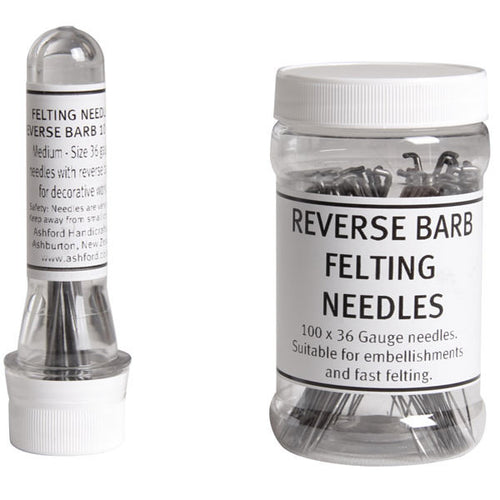 Reverse Barb Felting Needles 36 Gauge