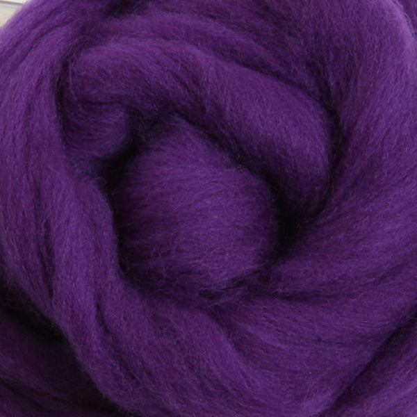 Merino Top (22 Micron) Purple