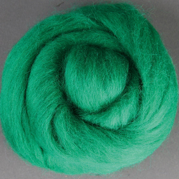 Merino Top (22 Micron) Green