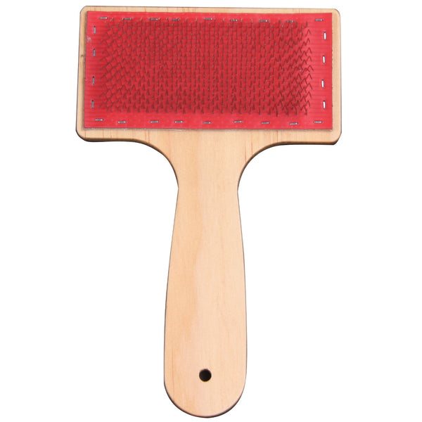 Drum Carder Cleaning Brush - Lacquered