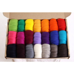 Fibre Sample Pack 2 - Corriedale Bright