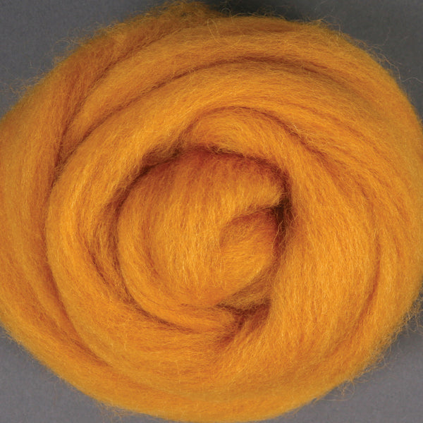 Corriedale Top Butterscotch