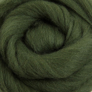 Merino Top (22 Micron) Fern Green