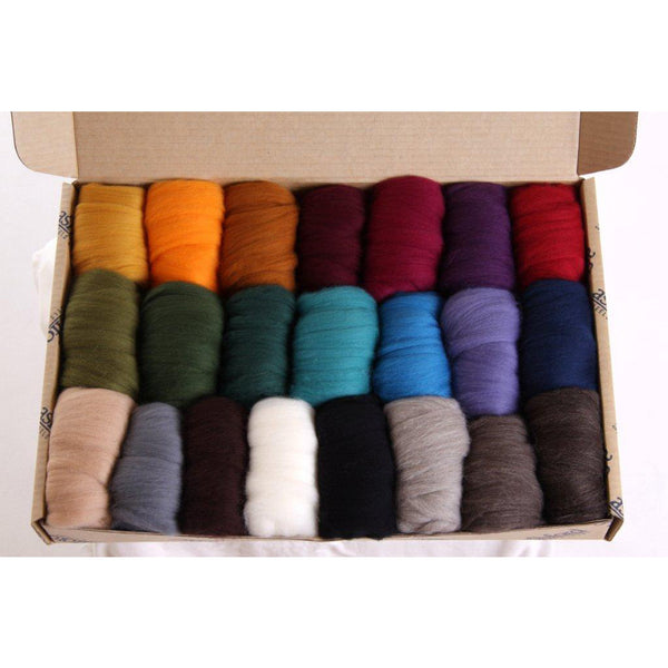 Fibre Sample Pack 5 - Merino Dark