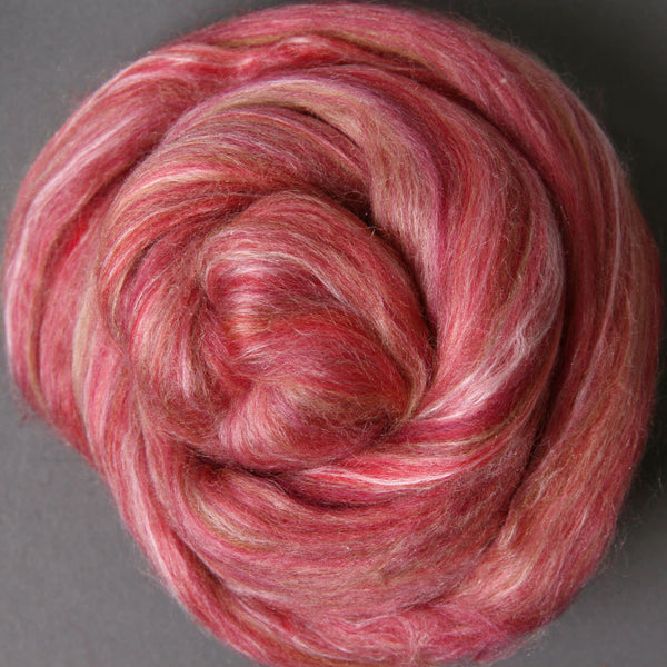 Silk/Merino Blend Pomegranate