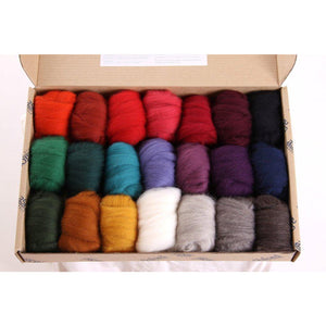 Fibre Sample Pack 3 - Corriedale Dark