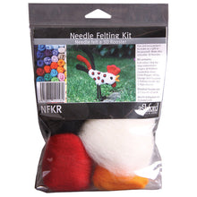 Load image into Gallery viewer, Needle Felting Kit - Rooster